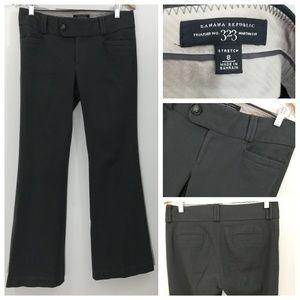 Banana Republic Martin Fit Grey Trousers Size 8